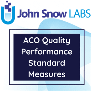 ACO Quality Performance Standard Measures Data Package