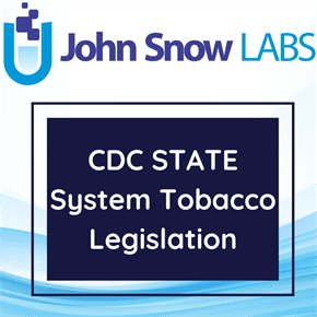 CDC STATE System Tobacco Legislation Data Package