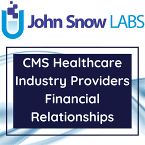 CMS Healthcare Industry Providers Financial Relationships Data Package