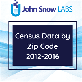 Census Data by Zip Code 2012-2016