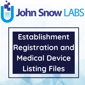 Establishment Registration and Medical Device Listing Files