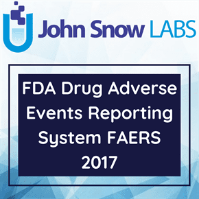 FDA Drug Adverse Events Reporting System FAERS 2017
