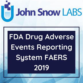 FDA Drug Adverse Events Reporting System FAERS 2019