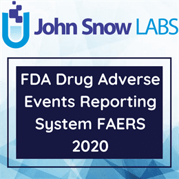 FDA Adverse Events Reporting System Drug Indication 2020