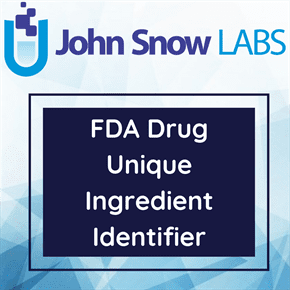 FDA Drug Unique Ingredient Identifier