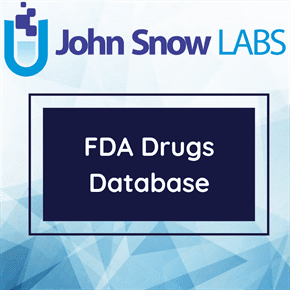 FDA Drugs Database Data Package