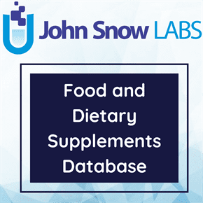Food and Dietary Supplements Database