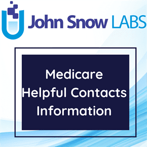 Medicare Helpful Contacts Information Data Package