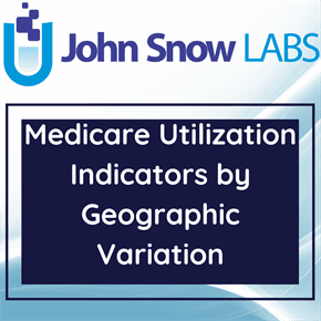 Medicare Utilization Indicators by Geographic Variation Data Package