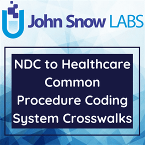 NDC to Healthcare Common Procedure Coding System Crosswalks Data Package