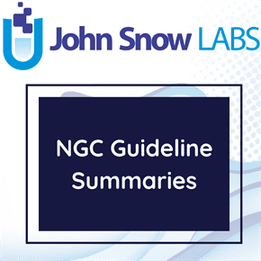 NGC Guideline Summaries