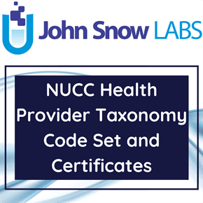 NUCC Health Provider Taxonomy Code Set and Certificates Data Package