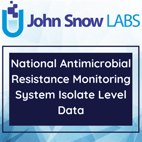 National Antimicrobial Resistance Monitoring System Isolate Level Data