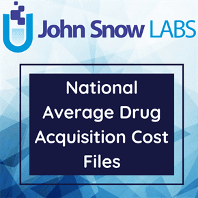 National Average Drug Acquisition Cost Dataset