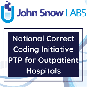National Correct Coding Initiative PTP for Outpatient Hospitals