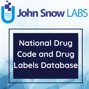 National Drug Code and Drug Labels Database Data Package