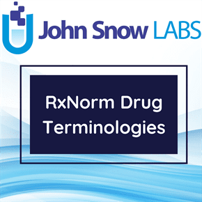 RxNorm Drugs Names and Identifiers