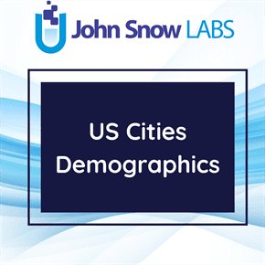US Cities Demographics Data Package