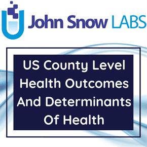 US Counties Ranks By Health Outcomes And Determinants 2010-2019