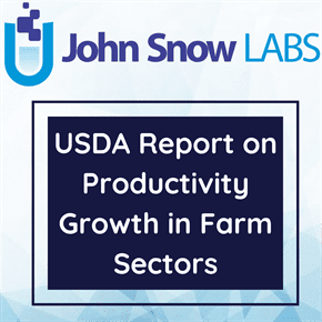 USDA Report on Productivity Growth in Farm Sectors