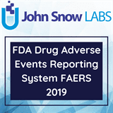 FDA Drug Adverse Events Reporting System FAERS 2020