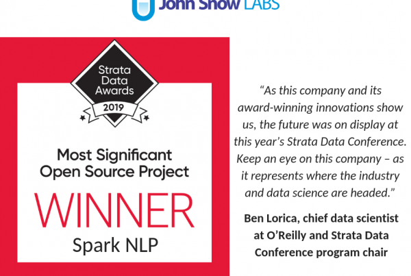 John_Snow_Labs_NLP_Award_Strata_Data