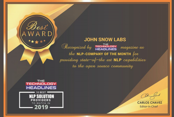 Spark-NLP-Company-of-the-month