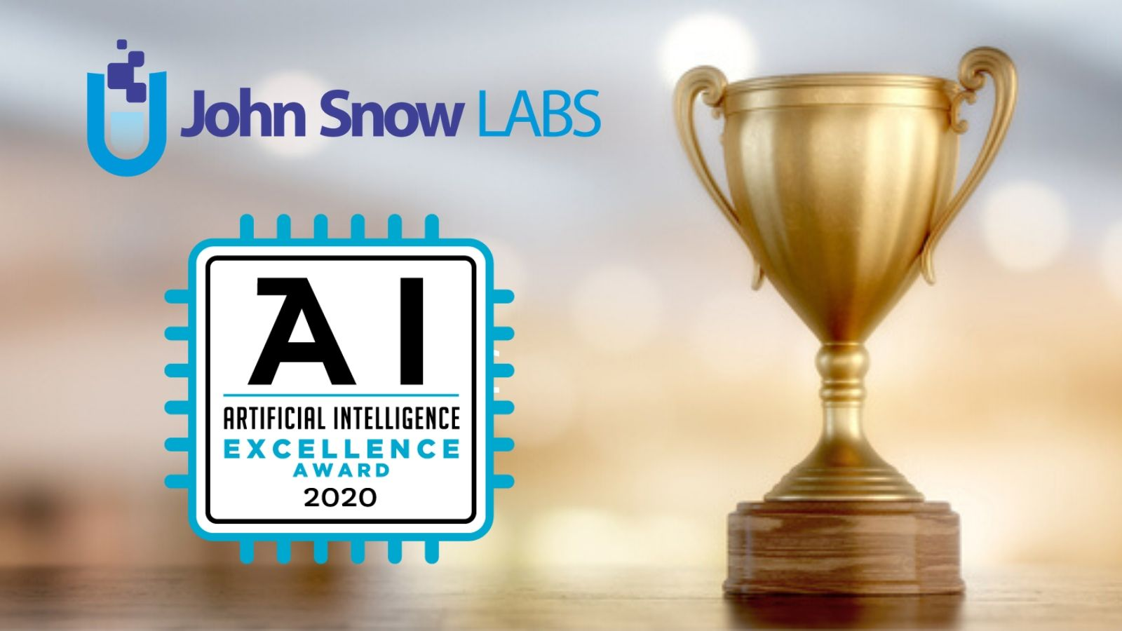 John Snow Labs wins the 2020 Artificial Intelligence Excellence Award