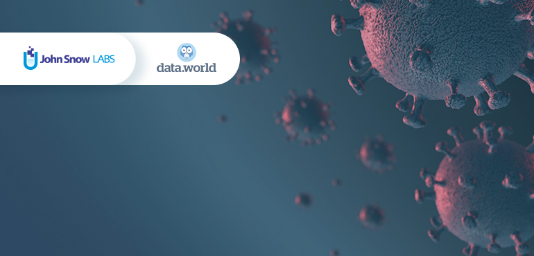 Data.world and John Snow Labs partner for free COVID-19 datasets to researchers & data scientists